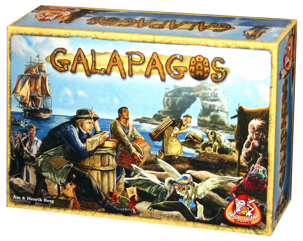 Galapagos Spiel